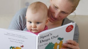 read with baby